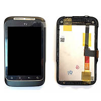 Дисплей HTC Wildfire S A510e  / G13  complete + touch + передняя рамка Original