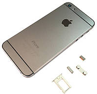 Крышка задняя iPhone 5S подобно 6G Gray (Old Version)