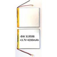 Аккумулятор универсальный 319598   9cm х 9cm   3,7v   4200mAh