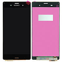 Дисплей Sony Xperia Z3 D6603 / D6633 / D6643 / D6653 complete with touch Black