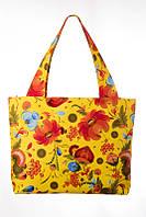 Текстильная сумка Flowers on Yellow