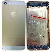 Крышка задняя iPhone 5   Gold