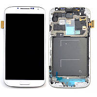 Дисплей Samsung Galaxy S4 GT-I9505 Original comlete with frame  White