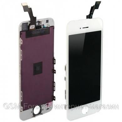 Дисплей iPhone 5S   White complete Original