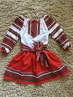 Вышиванка-платье для девочки