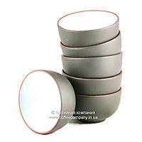 Пиала чайная исинская глина/фарфор 6х35мл 9281