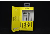 Наушники TE-801 с микрофоном Texnano