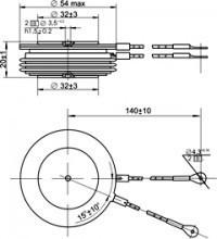 Тиристор ТБИ333-400-12-732