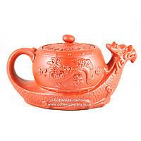 Чайник китайский заварочный исинская глина 420мл 9282