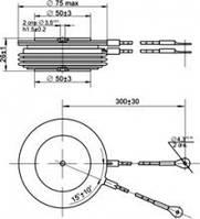 Тиристор ТБ153-1000-9-631(641), фото 1