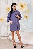 Модное женское демисезонное пальто в 7ми цветах В-1015 , фото 1