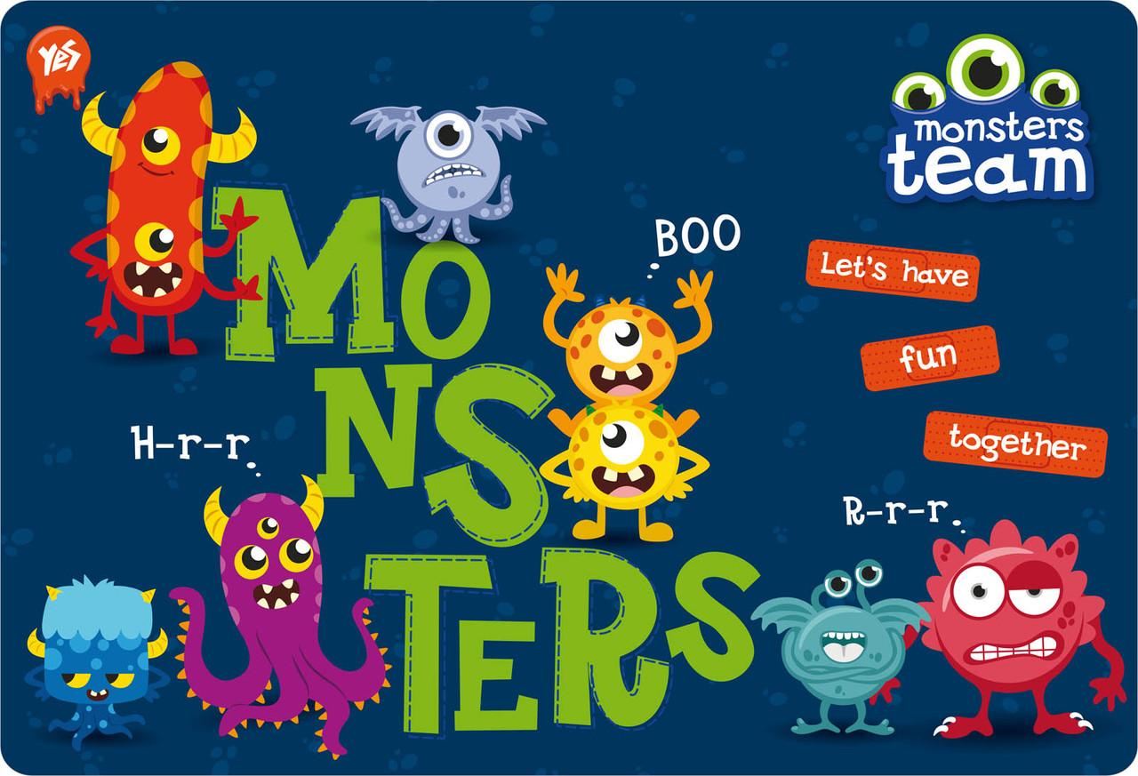 """491238 Подложка для стола детская """"Monsters"""" - Интернет-магазин """"Рюкзак"""" в Киеве"""