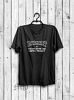 Стильная мужская футболка Thrasher черная