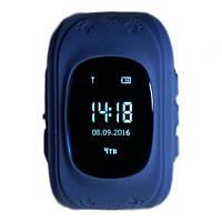 Детские умные часы Smart Watch GPS трекер Q50/G36  Blue