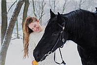 Фотопрогулка с лошадьми