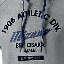 Толстовка Mizuno 1906 Authentic Hoody K2EC6050-07, фото 3