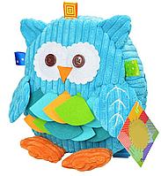 Рюкзак игрушка Совенок Отус, синий