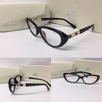 Женские очки прозрачные Swarovski