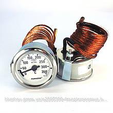 Термометр 0 350°С с выносным датчиком 2 м Ø60, Pakkens Турция