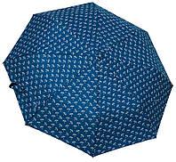Женский стильный зонтик 3702 blue