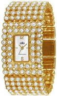 Женские кварцевые наручные часы с кристаллами Сваровски Elite  E52214-101
