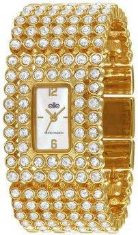 Жіночі наручні годинники з кристалами Сваровські Elite E52214-101, фото 2