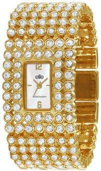 Жіночі наручні годинники з кристалами Сваровські Elite E52214-101