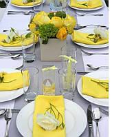 Аренда салфеток желтые