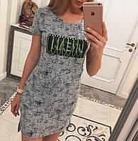 Коттоновое летнее платье