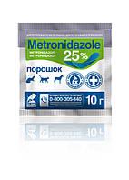 Метронидазол - 25% порош.  уп -  10г O.L.KAR.