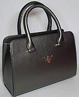 Женская каркасная сумка ПРАДА цвета карандаш