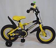Детский велосипед Barcelona 18д. Желт.