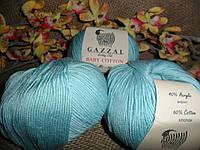 GAZZAL Baby Cotton(Беби Коттон) 3451 бирюза