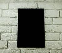 Доска меловая для рисования мелом формат А2 вертикальная без рамки