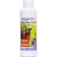 AQUAYER АкваБактол дезинфицирующее средство против внешних бактериальных инфекций рыб, 100мл