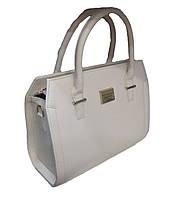 Удобная женская сумка кожзам