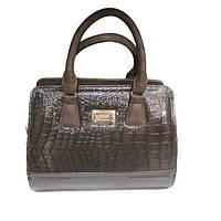 Модная лаковая женская сумка