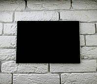 Доска меловая для рисования мелом формат А4 горизонтальная без рамки