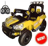 Электромобиль JEEP TRIUMF FS 801 желтый