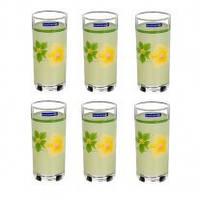 Набор стаканов высоких Luminarc Poeme Anis 6 штук 270мл стекло (5267)