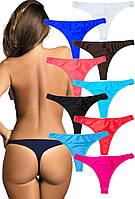 Женские пляжные плавки-стринг (S-L в расцветках)