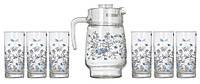 Romantique Набор для воды (кувшин 1,6л+ стакани 270мл-6шт) 7 предметов стекло Luminarc