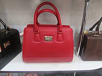 Женская сумка красного цвета, фото 1