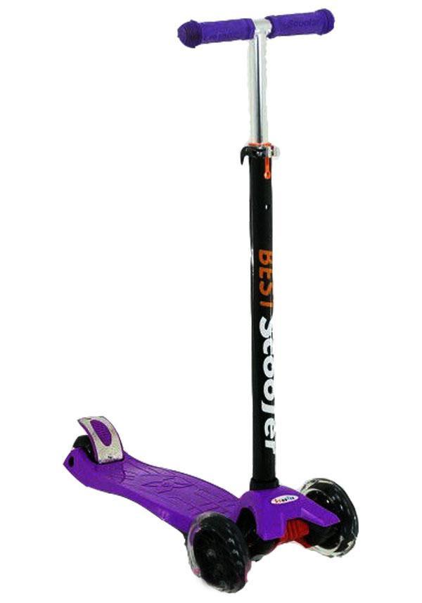 Самокат Best Scooter 466-113 фиолетовый