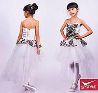 Платье на девочку с хвостом