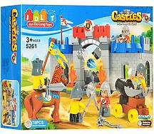 Конструктор JDLT 5263 Замок рыцарей, 166 деталей
