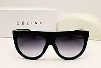 Женские солнцезащитные очки Celine CL 8600 черный глянец