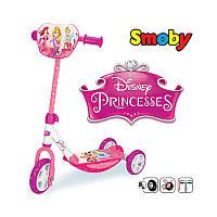 Самокат трехколесный Disney Princess Smoby 750142