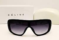 Женские солнцезащитные очки Celine CL 8661 черный глянец