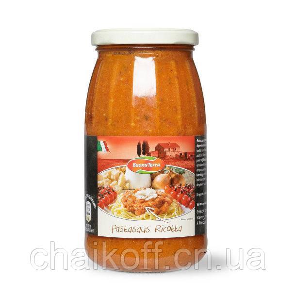 Заправка томатная с сыром рикотта Buona Terra Pastasaus Ricotta, 475 г (Италия)